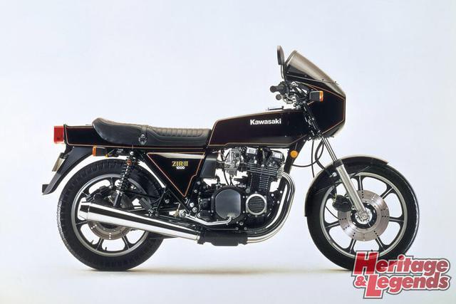 洗練されたカワサキ角Zの歴代モデル05
