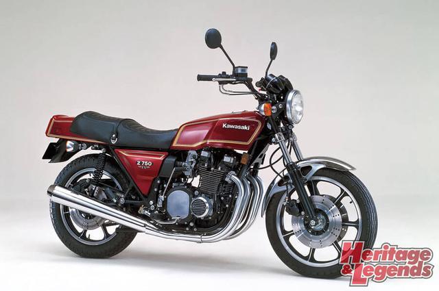 洗練されたカワサキ角Zの歴代モデル06