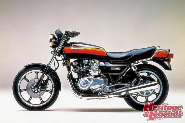 洗練されたカワサキ角Zの歴代モデル12