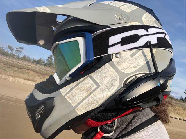 画像: ▲私が使っているヘッドセットはサインハウスのB+COM SB6X。