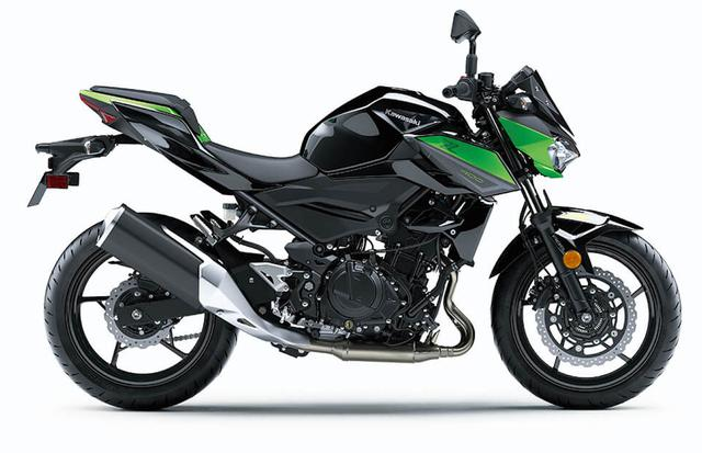 画像: Z400(2022年アメリカ仕様)/ メタリックスパークブラック×メタリックフラットスパークブラック