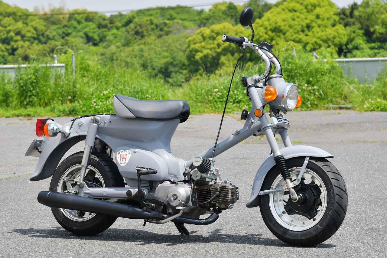 画像: 最近見かけたカスタムカブ紹介。10インチ足回りでコンパクトかわいいスーパーカブ。 - webオートバイ