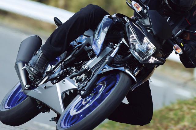 画像: 【インプレ】スズキ「GSX-S125」(2021年) - webオートバイ