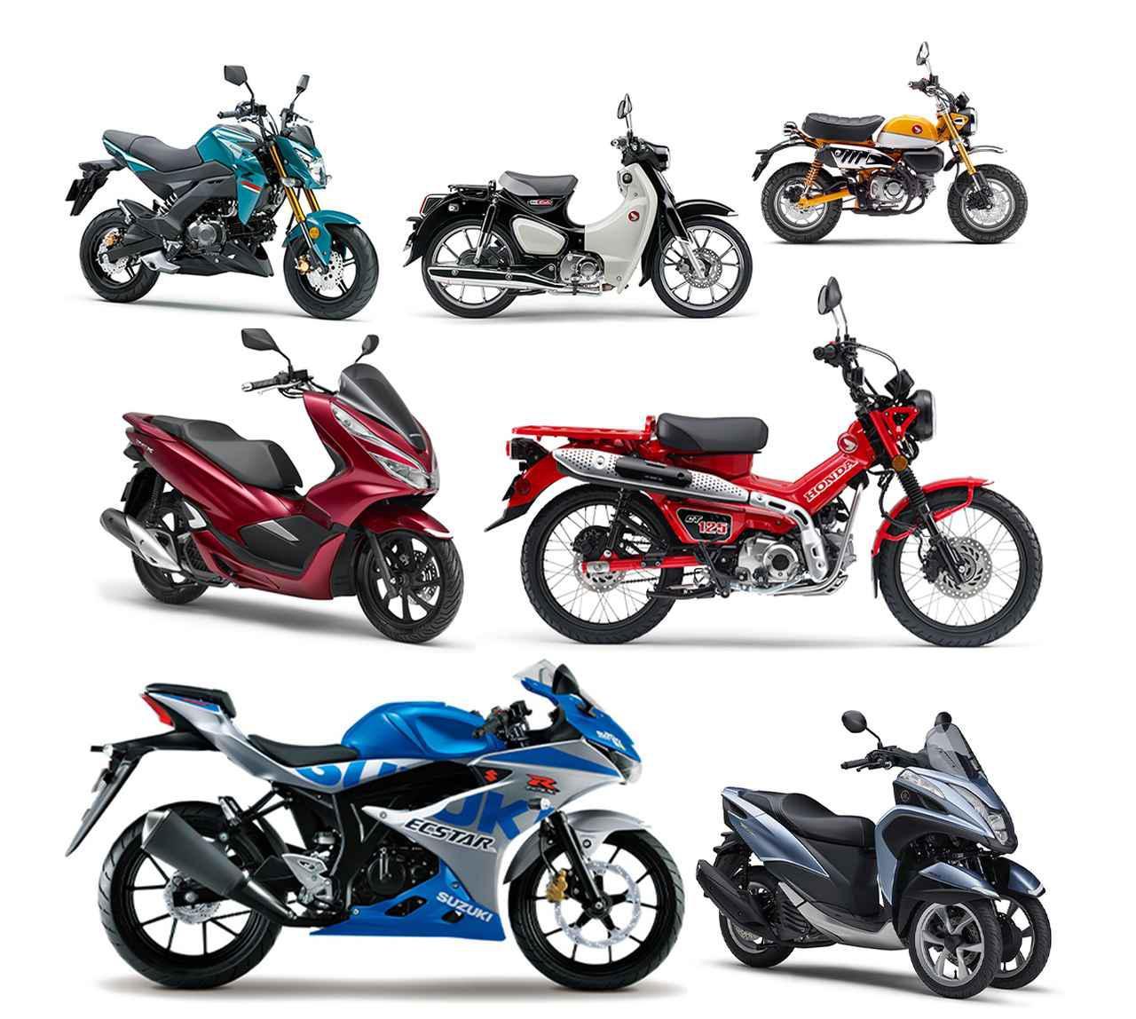 画像: 原付二種125ccバイクの人気ランキングTOP10|読者が選んだ2020年のベストモデル - webオートバイ