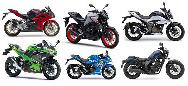 画像: 250ccバイクの人気ランキングTOP10|読者が選んだ2020年のベストモデルを - webオートバイ