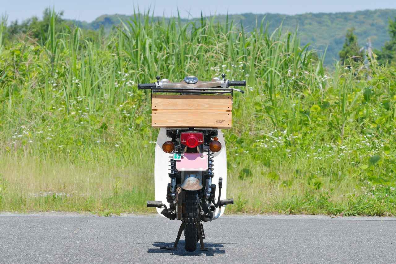 画像9: スーパーカブとハンターカブにいろんな箱を付けまくる第3弾。トップケース、木箱、ホムセン箱とか収穫コンテナとかの色々編〈若林浩志のスーパー・カブカブ・ダイアリーズ Vol.83〉