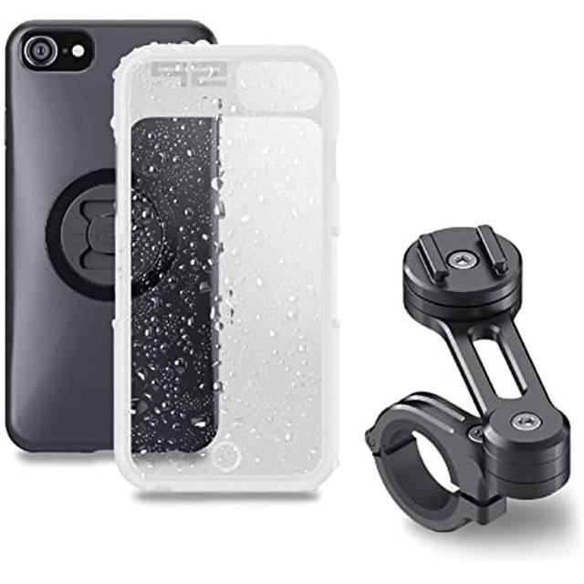 画像: Amazon   デイトナ SP CONNECT(エスピーコネクト) バイク用 スマホホルダー 53900 モトバンドル iPhone 8/7/6s/6/SE(第2世代) 99402