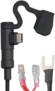 画像: Amazon | デイトナ バイク用電源ケーブル電源供給&ケーブル一体型USB-CPD3.0対応