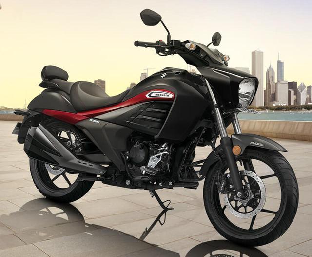 画像: スズキ「イントルーダー」はインドで姿を変えて人気モデルになっていた?- webオートバイ