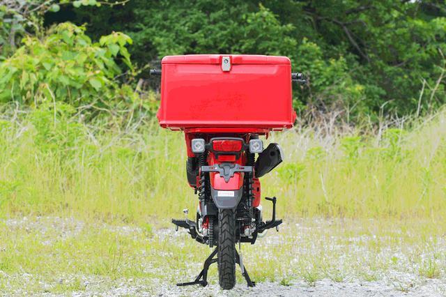 画像: 縦にのび~る。110~148リットルですってよ。めちゃめちゃ大容量ですな。キャンプ道具も余裕っぽい。