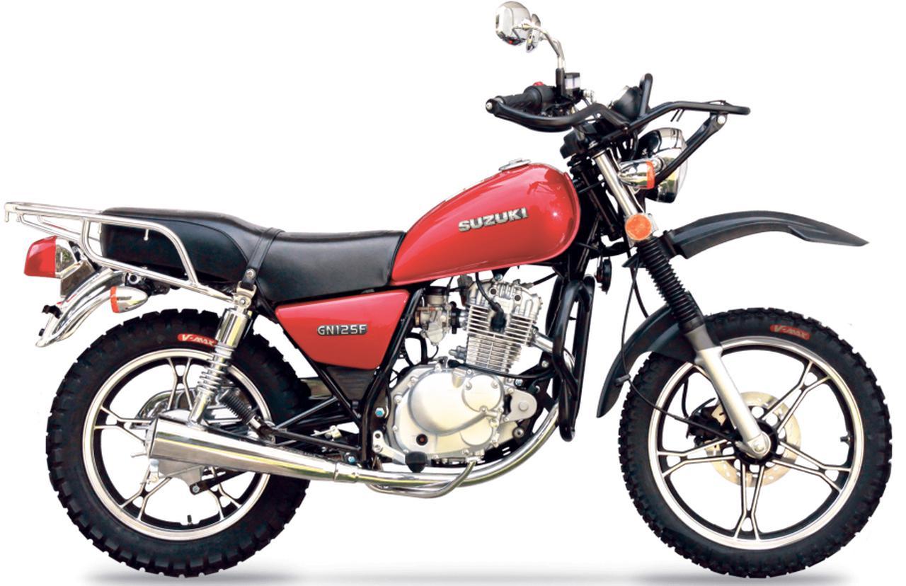 Images : 2番目の画像 - 【写真2枚】スズキ「GN125 FORCE TT」(グアテマラ仕様車) - webオートバイ