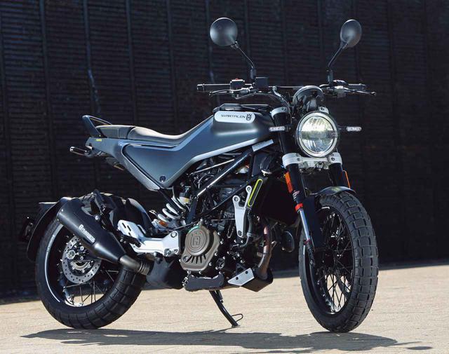 画像: 【インプレ】「スヴァルトピレン125」(2021年)- webオートバイ