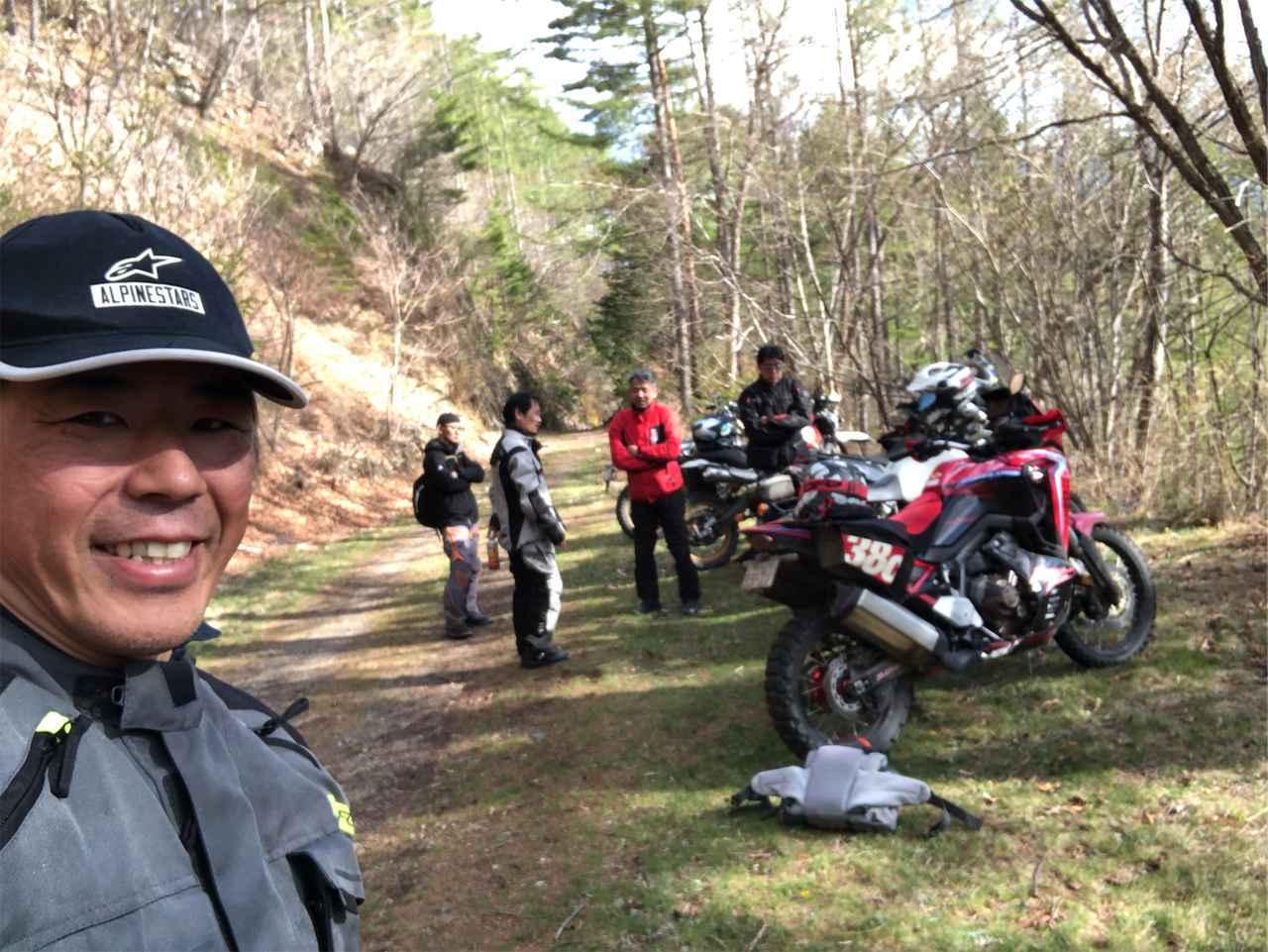 画像2: ビッグバイクは3台から5台に。林道を満喫する