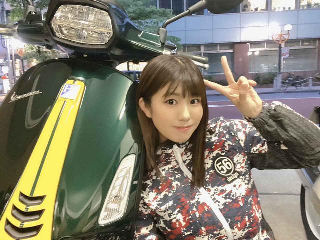 画像: 【梅本まどかの試乗レビュー】ベスパ「スプリント150」 - webオートバイ