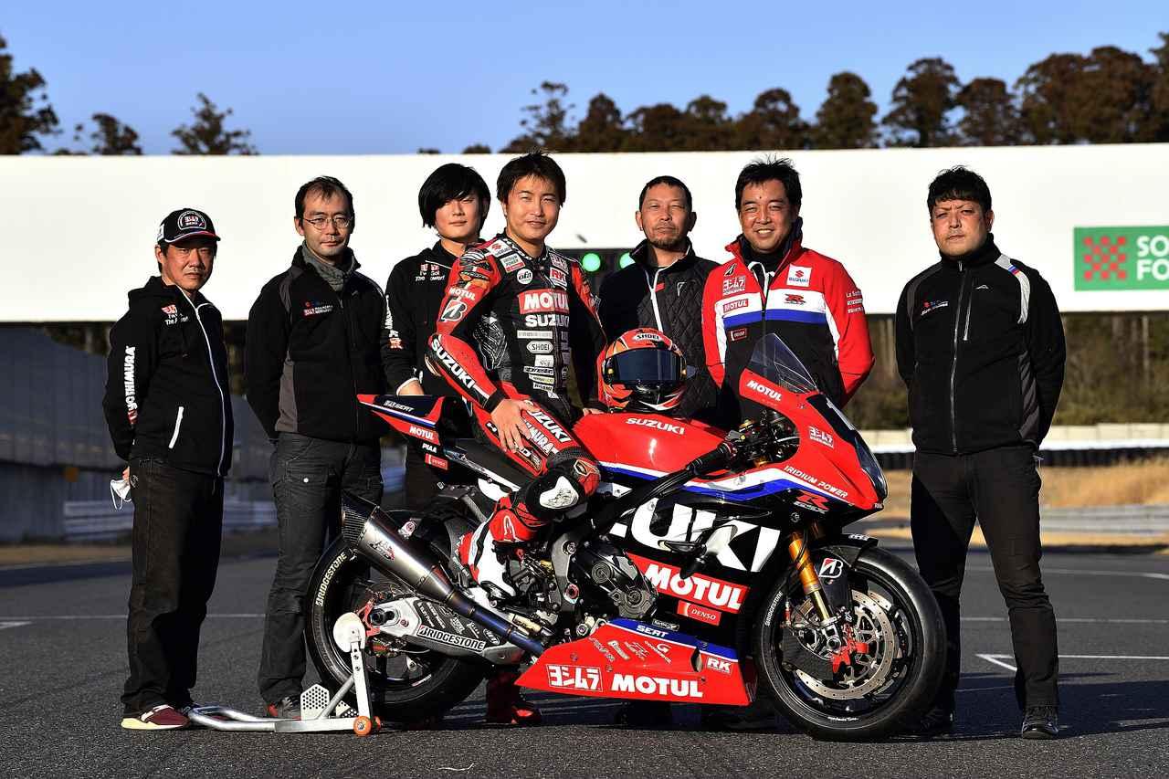 画像: 日本のヨシムラが製作するマシンで世界耐久を戦うヨシムラSERT 写真はシーズンオフの袖ケ浦テスト