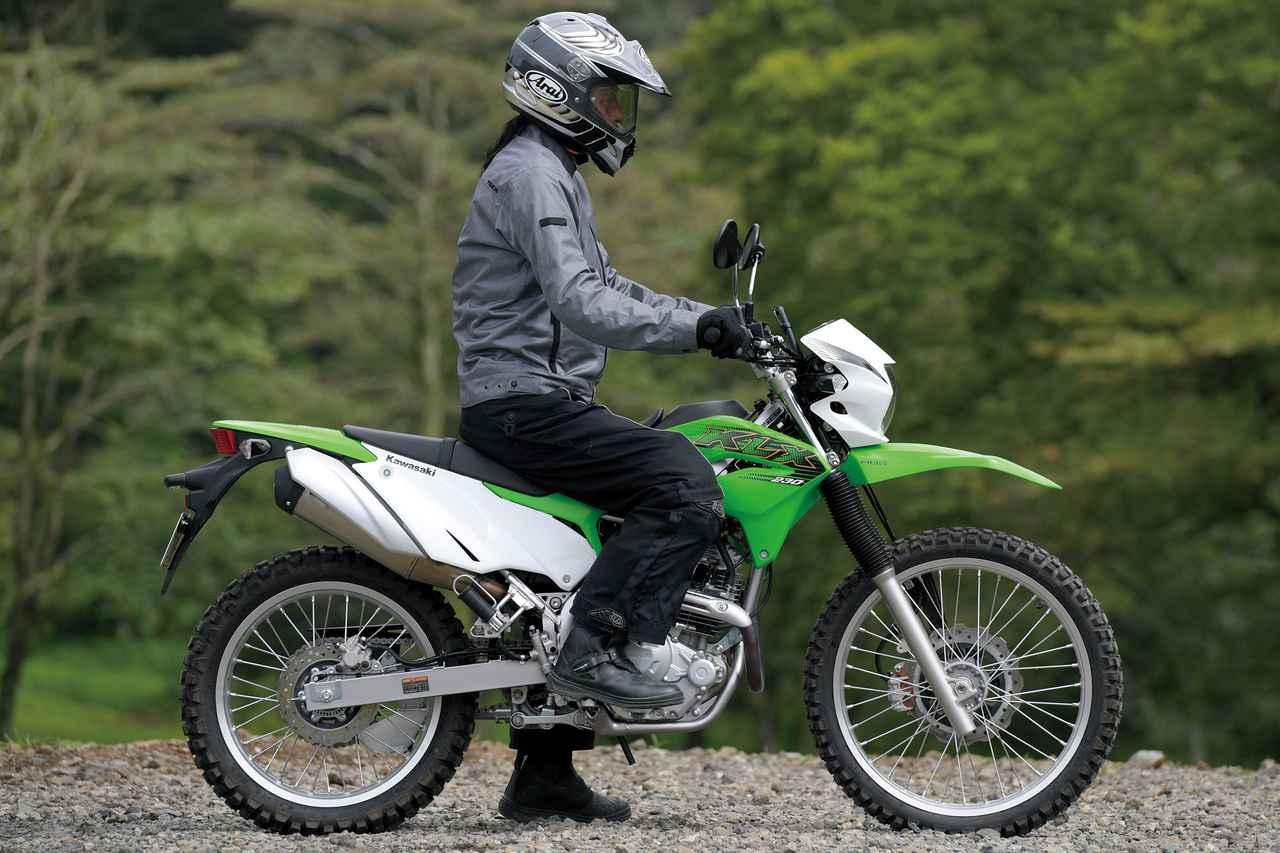 画像9: 250ccアドベンチャー&オフロードバイクを徹底比較|ホンダ・スズキ・カワサキの計5機種を比べてみた(2021年)