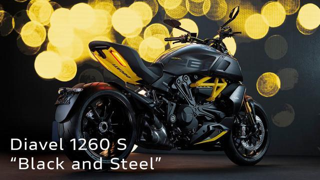 画像: Diavel 1260 S Black and Steel | Lights On Me www.youtube.com
