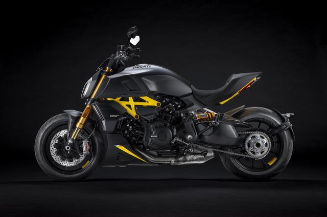 画像2: ドゥカティ「ディアベル1260S」の新たなバリエーションモデルが登場! 斬新なスタイルの〈ブラック&スチール〉バージョン