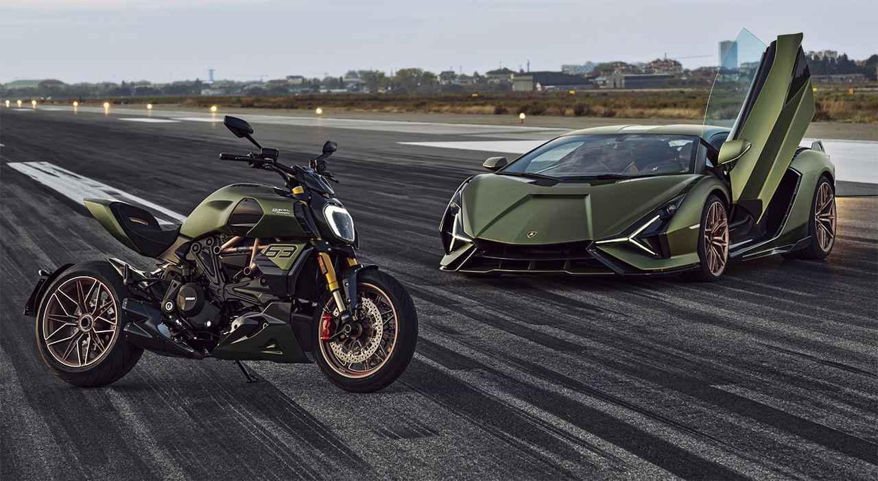 画像: ドゥカティ「ディアベル ランボルギーニ」を解説! 世界限定630台、発表直後に予約完売した超プレミアムモデル - webオートバイ
