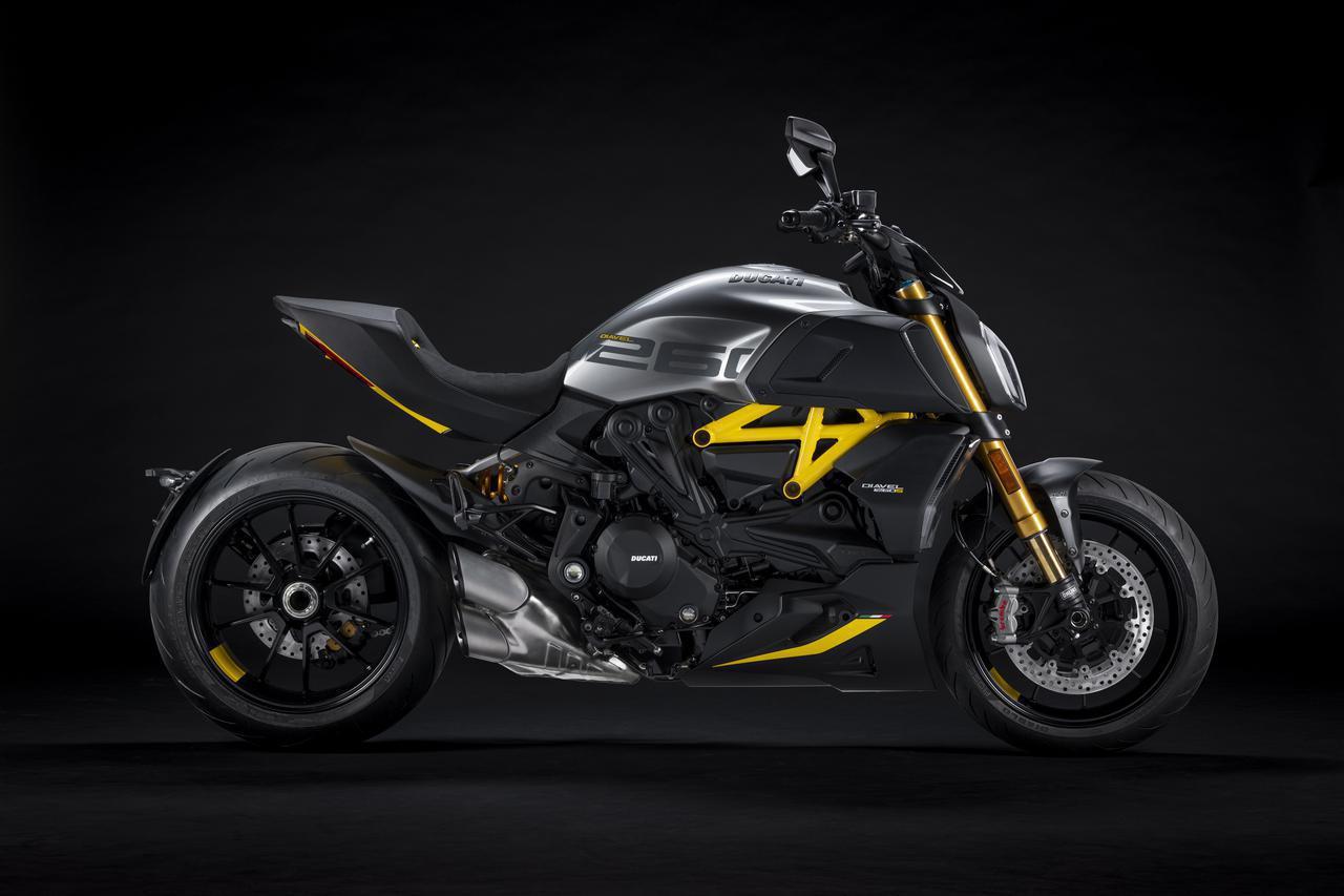 画像1: ドゥカティ「ディアベル1260S」の新たなバリエーションモデルが登場! 斬新なスタイルの〈ブラック&スチール〉バージョン