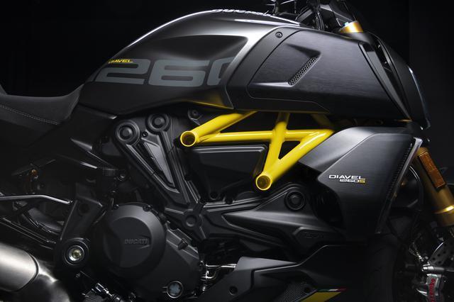 画像2: ドゥカティ「ディアベル1260S ブラック&スチール」の特徴