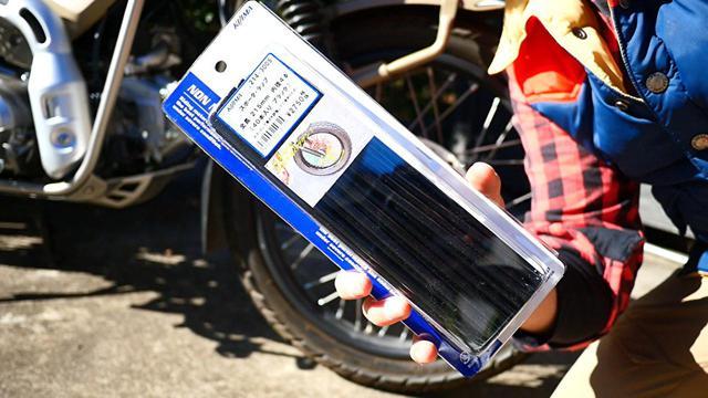 画像: ▲キジマのスポークラップはしっかりした作りだが、少々割高(税込価格:3025円)。Amazonで販売されている中国製のものでも機能は問題ない。