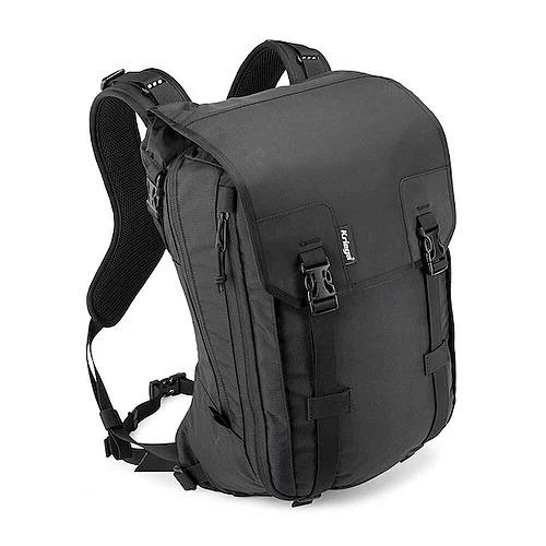 画像: Kriega MAX 28 Backpack サイズ:H460 × W280 × D180mm(22Lサイズ使用時) 容量:22L⇔28L(可変式) 重量:1,850g 税込価格:37,950円