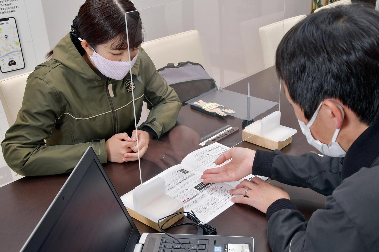 画像: ▲恒川店長が事前に準備してくださってたこともあり、入会手続き自体は10分もかからずでした!
