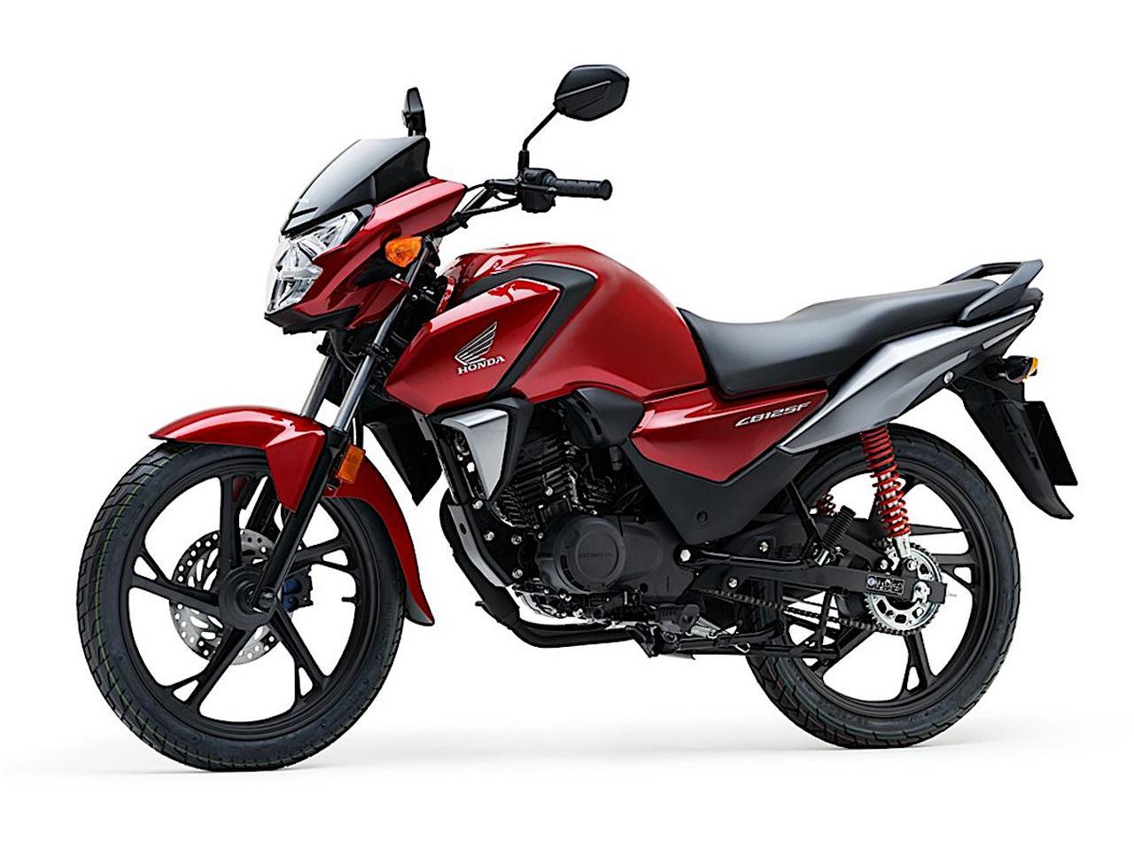 画像: Honda CB125F 欧州仕様・2021年モデル 総排気量:124cc エンジン形式:空冷4ストSOHC2バルブ単気筒 シート高:790mm 車両重量:117kg