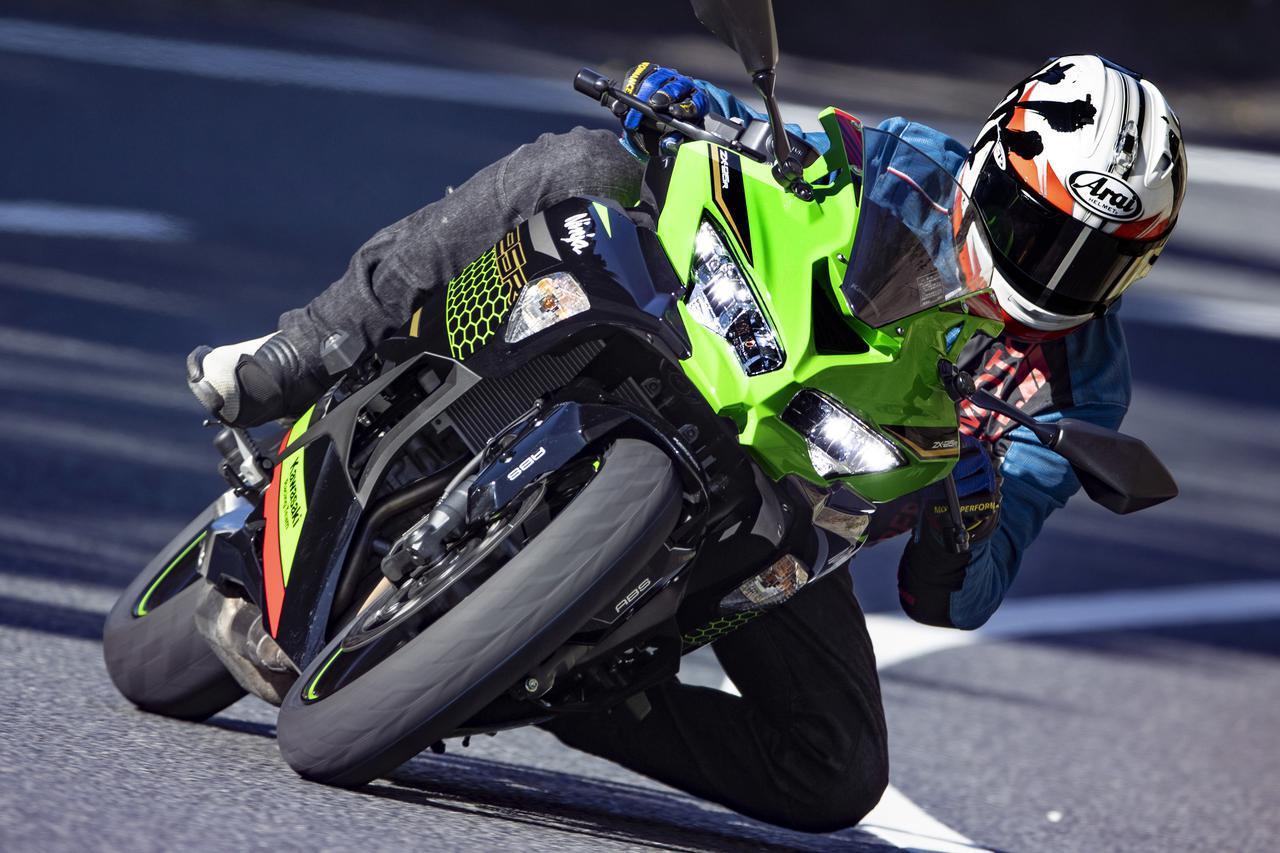 画像: 【インプレ】カワサキ「Ninja ZX-25R」 - webオートバイ