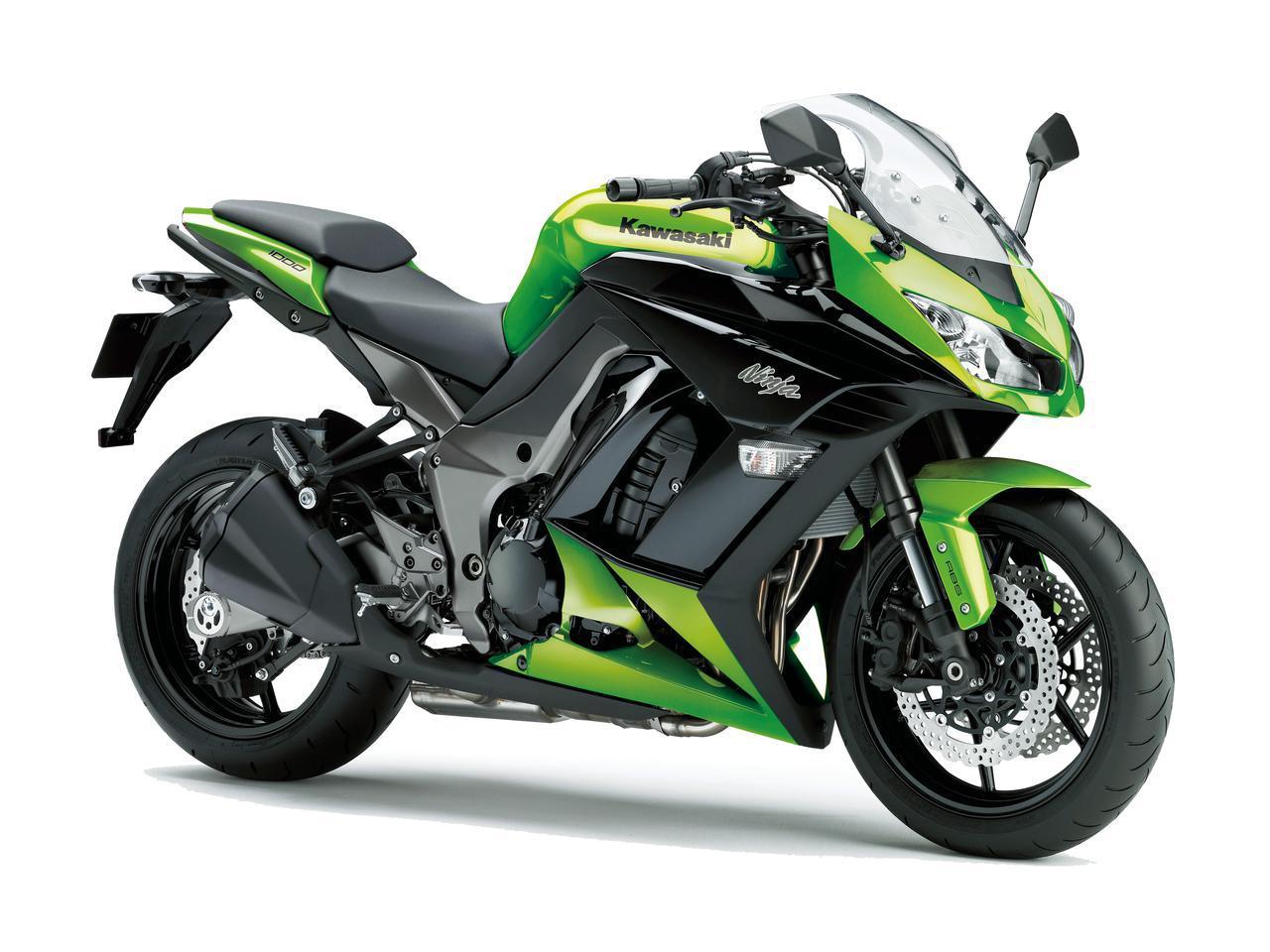 画像: 点検車両 Kawasaki「Ninja 1000 ABS」 2012 モデル車のニンジャ1000は2012年式で走行距離4万キロ弱。基本的なメンテナンス、消耗部品の交換は自分でやってきたが、改めてプロの厳しい目でチェックしてもらった。