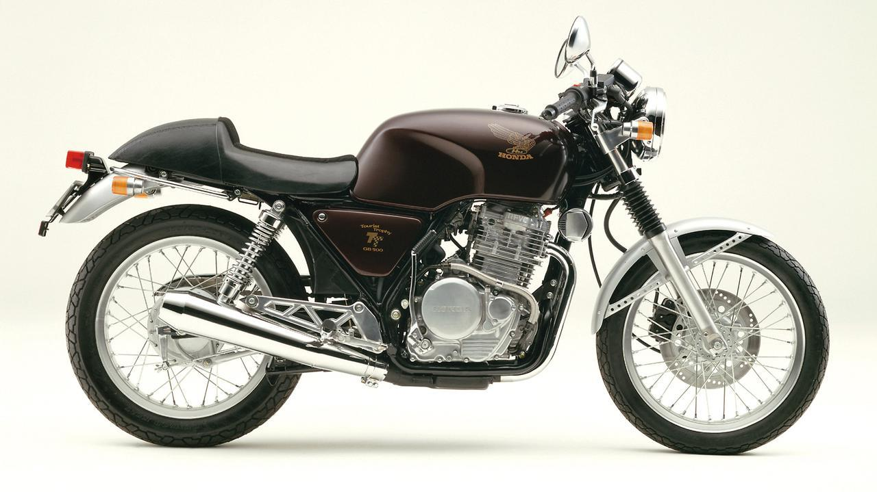 画像: Honda GB500TT 1985 発売当時価格:46万9000円 カラー:キャンディミューズレッド