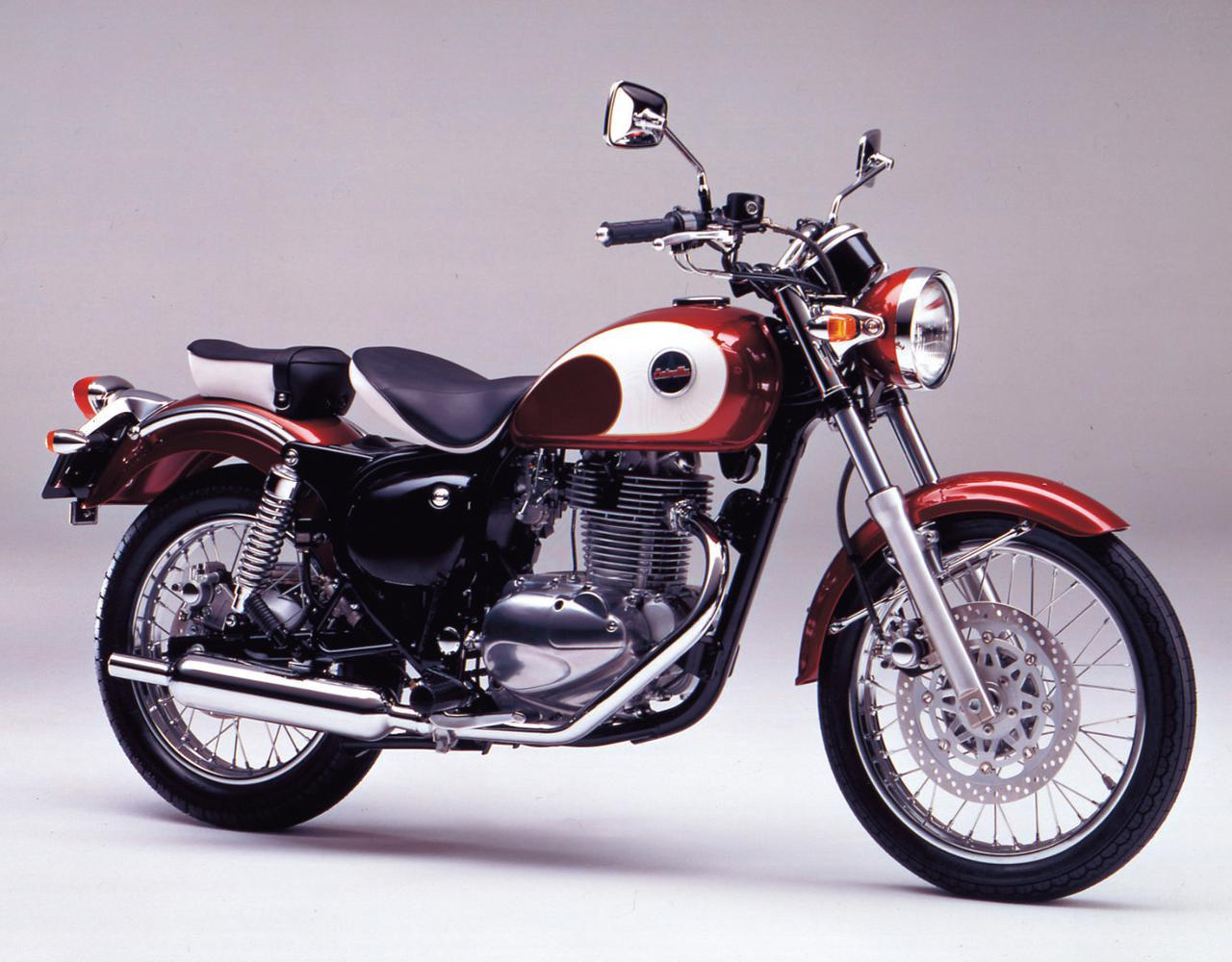 画像: Kawasaki ESTRELLA-RS 1995 発売当時価格:45万円 カラー:ワインレッド