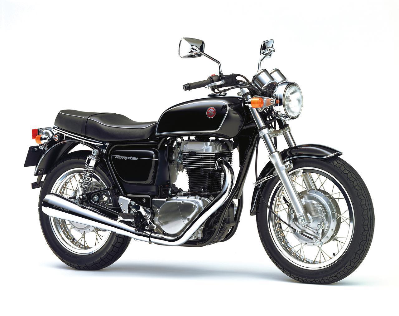 画像: SUZUKI TEMPTER400 1997 発売当時価格:46万9000円 カラー:パールノベルティブラック