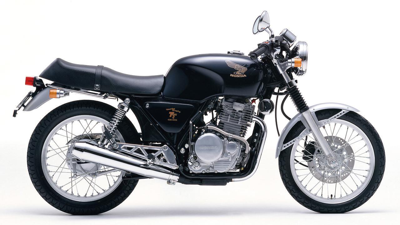 画像: Honda GB400TT 1985 発売当時価格:43万9000円 カラー:キャンディセレナーデブルー