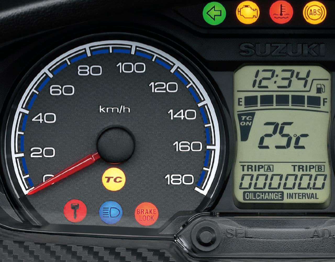 画像1: スズキ「バーグマン400 ABS」がモデルチェンジ! トラクションコントロールとツインプラグエンジンを新たに採用