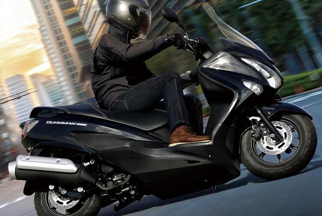 画像: スズキ「バーグマン200 ABS」2021年モデル情報 - webオートバイ
