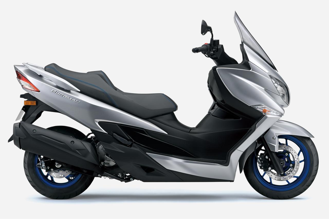 Images : 2番目の画像 - 【写真6枚】スズキ新型「バーグマン400 ABS」 - webオートバイ