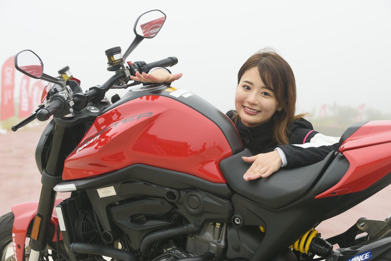 画像1: モデルチェンジですべてを一新した「モンスター」 平嶋夏海さんの第一印象は?