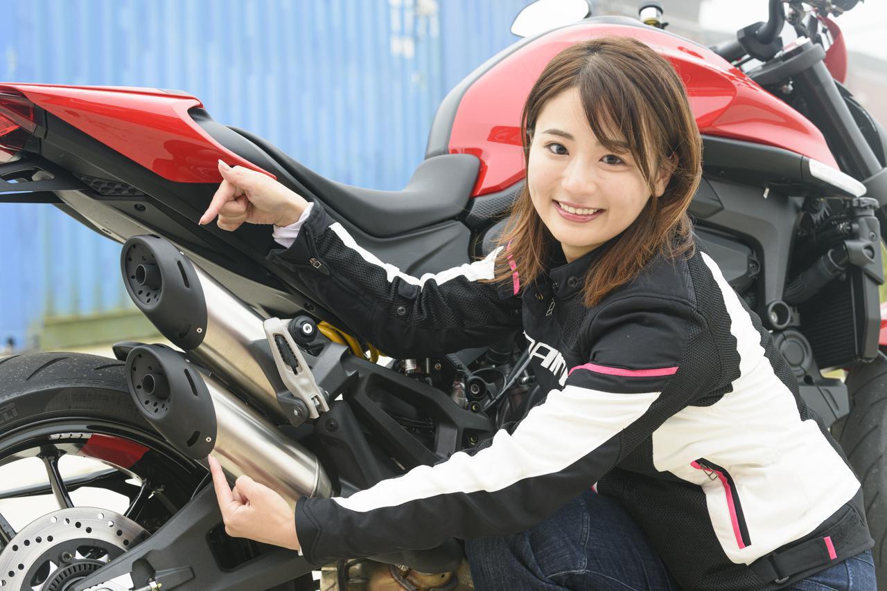 画像2: モデルチェンジですべてを一新した「モンスター」 平嶋夏海さんの第一印象は?
