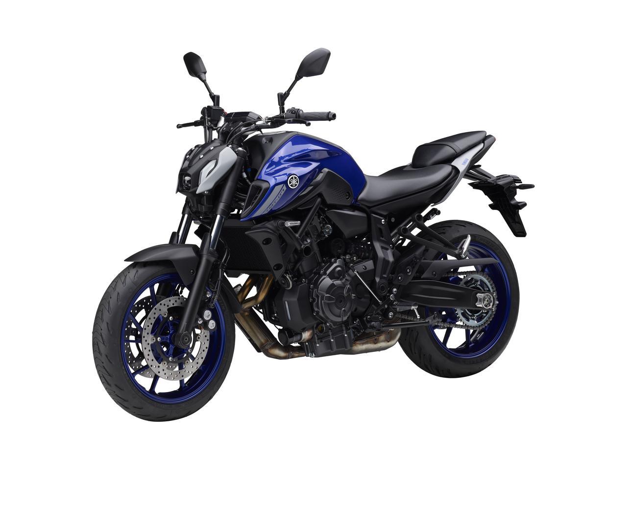 Images : 4番目の画像 - 【写真12枚】ヤマハ「MT-07 ABS」国内仕様・2021年モデル - webオートバイ