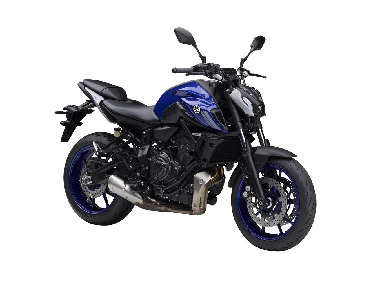 Images : 3番目の画像 - 【写真12枚】ヤマハ「MT-07 ABS」国内仕様・2021年モデル - webオートバイ