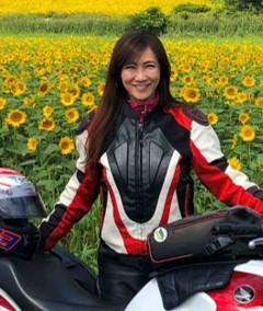 画像: 東 和代(あずま かずよ) 北海道出身。単車倶楽部アンバサダーとして、誌上や各種SNSで北海道ツーリングの魅力を発信中。 二輪車専門雑誌の表紙も務める現役ライダー。