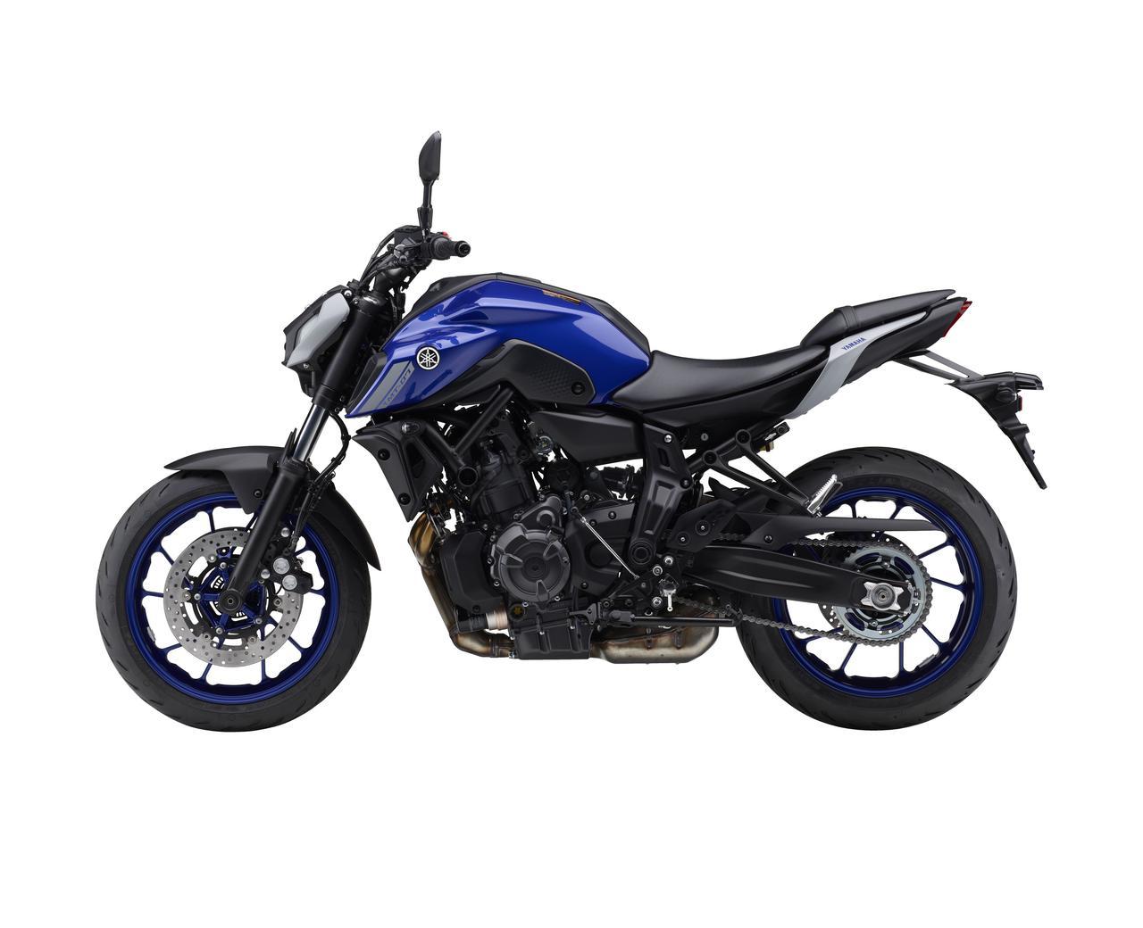 Images : 2番目の画像 - 【写真12枚】ヤマハ「MT-07 ABS」国内仕様・2021年モデル - webオートバイ