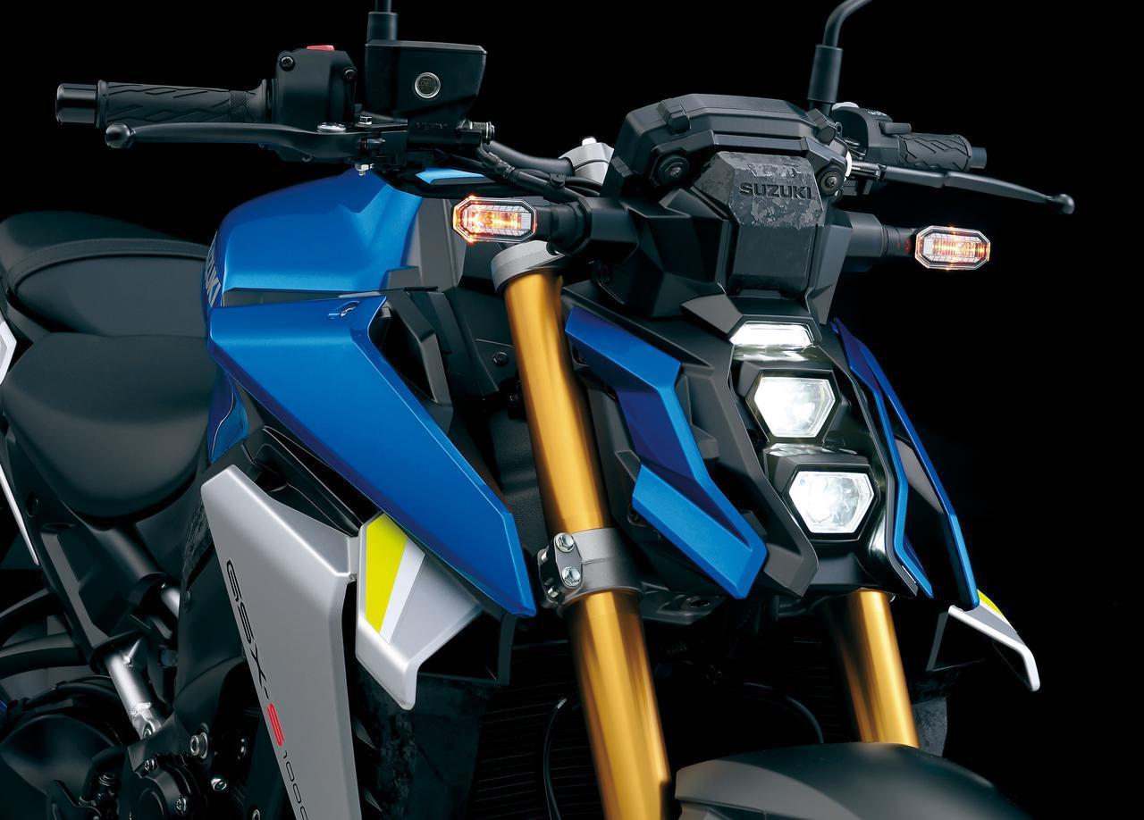 画像: スズキ新型「GSX-S1000」のスタイリングと装備を徹底チェック! 各部と純正アクセサリーパーツを紹介 - webオートバイ
