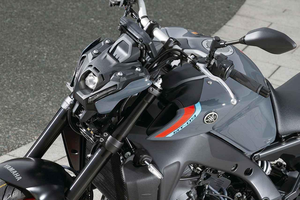 画像: 撮りおろし写真で見るヤマハ新型「MT-09」 - webオートバイ