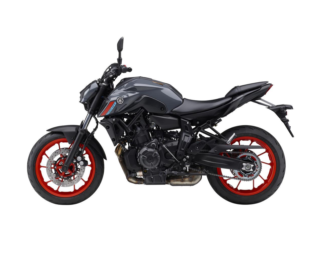 Images : 10番目の画像 - 【写真12枚】ヤマハ「MT-07 ABS」国内仕様・2021年モデル - webオートバイ