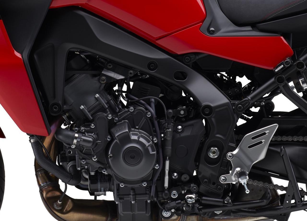 画像2: ヤマハ「トレーサー9 GT ABS」の特徴