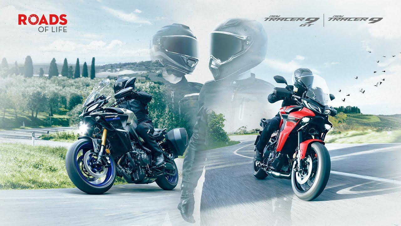 画像: 【欧州の動画】2021 Yamaha TRACER 9 and TRACER 9 GT – ROADS OF LIFE www.youtube.com