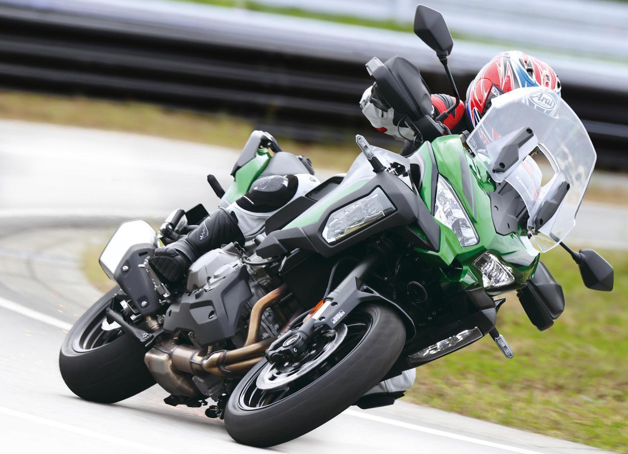画像: 【インプレ】カワサキ「ヴェルシス1000SE」2021年モデル - webオートバイ